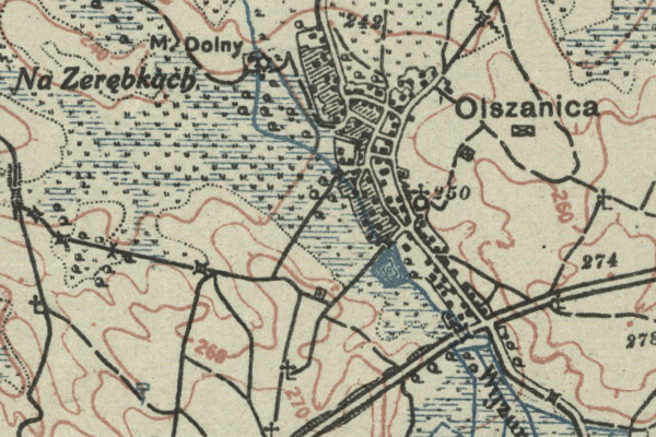 Olszanica – the 1795 tax census