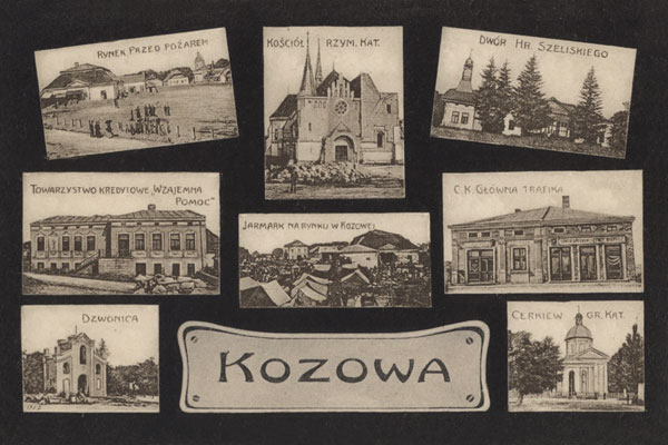Kozowa – the voter list from 1861 year
