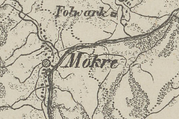Mokre – the voter list from 1867 year