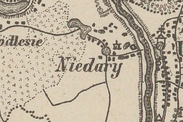 Niedary – the voter list from 1861 year