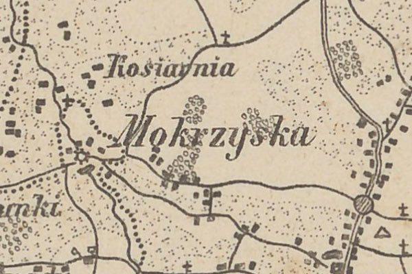 Mokrzyska – the voter list from 1867 year