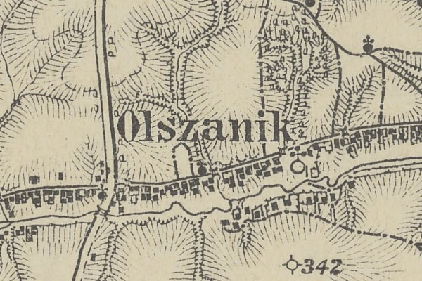 Olszanik – the voter list from 1861 year