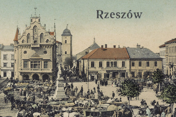 Rzeszow – the voter list from 1870 year